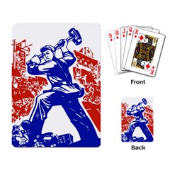 Communist Party Of China Playing Cards Single Design