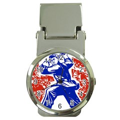 Communist Party Of China Money Clip with Watch