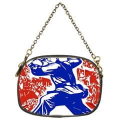Communist Party Of China Chain Purse (Two Sided)