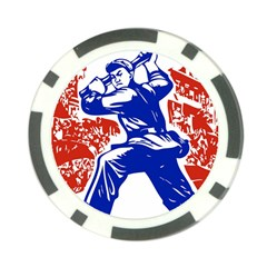 Communist Party Of China Poker Chip 10 Pack