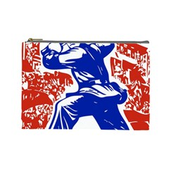 Communist Party Of China Cosmetic Bag (Large)