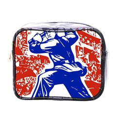 Communist Party Of China Mini Travel Toiletry Bag (One Side)