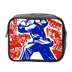 Communist Party Of China Mini Travel Toiletry Bag (Two Sides)
