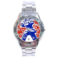 Communist Party Of China Stainless Steel Watch (men s)