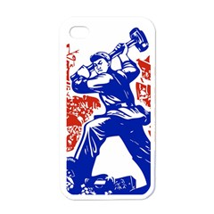 Communist Party Of China Apple iPhone 4 Case (White)