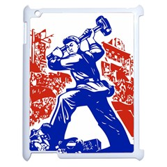 Communist Party Of China Apple iPad 2 Case (White)