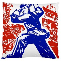 Communist Party Of China Large Cushion Case (Two Sided)