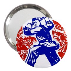 Communist Party Of China 3  Handbag Mirror