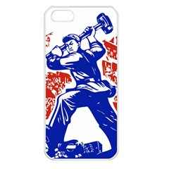 Communist Party Of China Apple iPhone 5 Seamless Case (White)