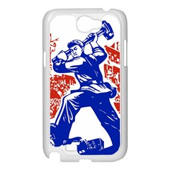 Communist Party Of China Samsung Galaxy Note 2 Case (White)