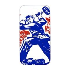 Communist Party Of China Samsung Galaxy S4 I9500/I9505  Hardshell Back Case