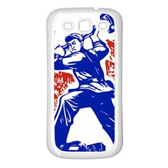 Communist Party Of China Samsung Galaxy S3 Back Case (White)