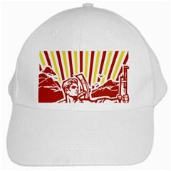 Octobe revolution White Baseball Cap