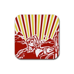 Octobe revolution Drink Coasters 4 Pack (Square)