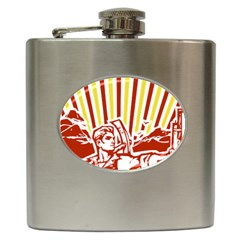 Octobe revolution Hip Flask
