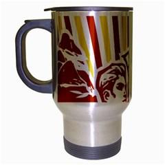Octobe revolution Travel Mug (Silver Gray)