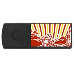 Octobe revolution 4GB USB Flash Drive (Rectangle)