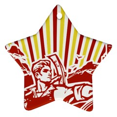 Octobe revolution Star Ornament (Two Sides)