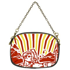Octobe revolution Chain Purse (Two Sided)