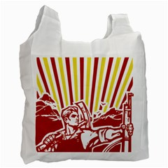 Octobe revolution Recycle Bag (Two Sides)