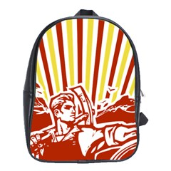 Octobe revolution School Bag (Large)