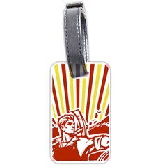 Octobe revolution Luggage Tag (One Side)