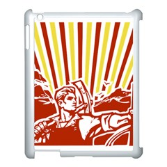 Octobe revolution Apple iPad 3/4 Case (White)
