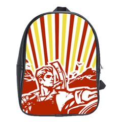Octobe revolution School Bag (XL)