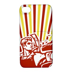Octobe revolution Apple iPhone 4/4S Hardshell Case with Stand