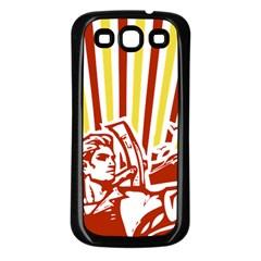Octobe revolution Samsung Galaxy S3 Back Case (Black)