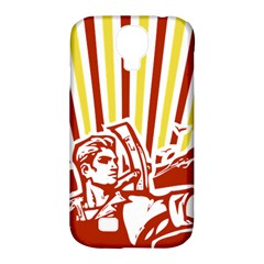 Octobe revolution Samsung Galaxy S4 Classic Hardshell Case (PC+Silicone)