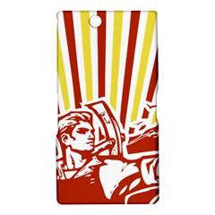 Octobe revolution Sony Xperia XL39h (Xperia Z Ultra) Hardshell Case