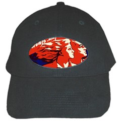 Communist Propaganda He And She  Black Baseball Cap