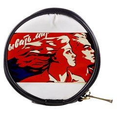 Communist Propaganda He And She  Mini Makeup Case