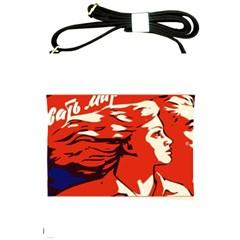 Communist Propaganda He And She  Shoulder Sling Bag