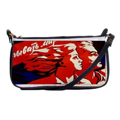 Communist Propaganda He And She  Evening Bag