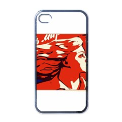 Communist Propaganda He And She  Apple Iphone 4 Case (black)