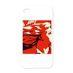 Communist Propaganda He And She  Apple iPhone 4 Case (White)