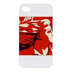 Communist Propaganda He And She  Apple iPhone 4/4S Premium Hardshell Case