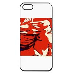 Communist Propaganda He And She  Apple Iphone 5 Seamless Case (black)