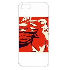 Communist Propaganda He And She  Apple iPhone 5 Seamless Case (White)