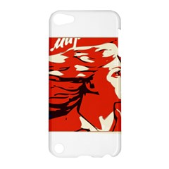 Communist Propaganda He And She  Apple iPod Touch 5 Hardshell Case