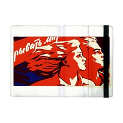 Communist Propaganda He And She  Apple iPad Mini Flip Case
