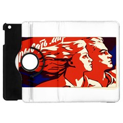 Communist Propaganda He And She  Apple iPad Mini Flip 360 Case