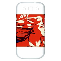 Communist Propaganda He And She  Samsung Galaxy S3 S III Classic Hardshell Back Case