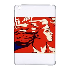 Communist Propaganda He And She  Apple iPad Mini Hardshell Case (Compatible with Smart Cover)