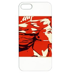Communist Propaganda He And She  Apple iPhone 5 Hardshell Case with Stand
