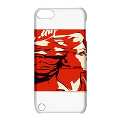 Communist Propaganda He And She  Apple iPod Touch 5 Hardshell Case with Stand