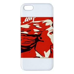 Communist Propaganda He And She  iPhone 5 Premium Hardshell Case