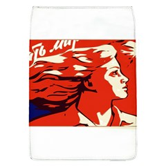 Communist Propaganda He And She  Removable Flap Cover (large)